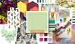 Color Mood Board - Pistachio