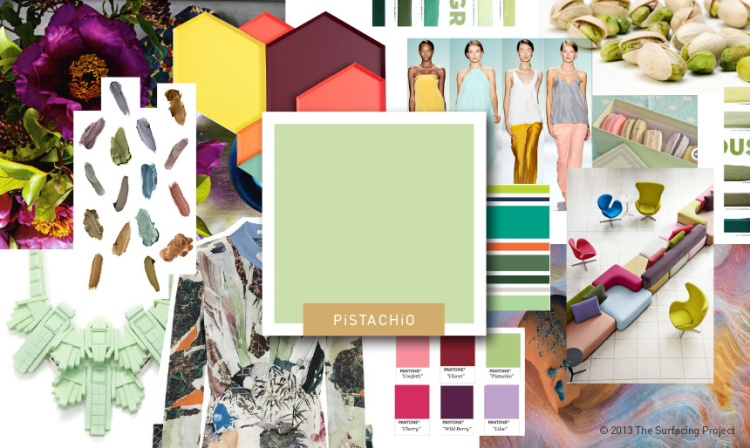 Color Mood Board - Pistachio